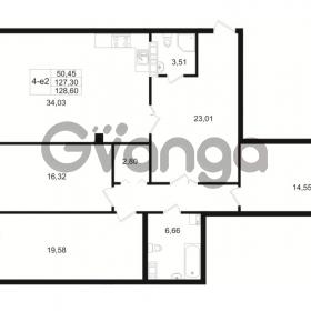 Продается квартира 3-ком 127 м² Малый пр. В.О. 64, метро Василеостровская