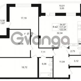 Продается квартира 3-ком 117 м² Малый пр. В.О. 64, метро Василеостровская