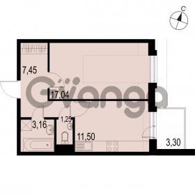 Продается квартира 1-ком 40.4 м² Саперная улица 53, метро Купчино