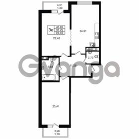 Продается квартира 2-ком 91.29 м² улица Мира 37, метро Петроградская