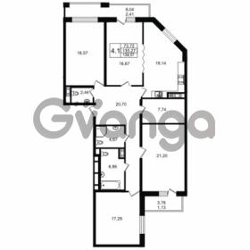 Продается квартира 4-ком 135.27 м² улица Мира 37, метро Петроградская
