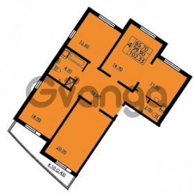 Продается квартира 4-ком 102 м² проспект Маршала Блюхера 12Б, метро Лесная