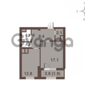 Продается квартира 1-ком 47.3 м² Московский проспект 65, метро Фрунзенская