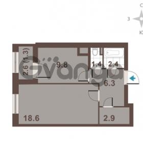Продается квартира 1-ком 42.7 м² Московский проспект 65, метро Фрунзенская