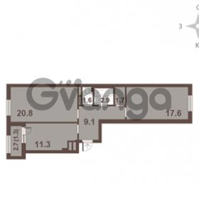 Продается квартира 2-ком 66.3 м² Московский проспект 65, метро Фрунзенская