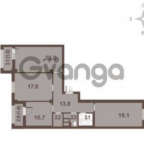 Продается квартира 3-ком 91.9 м² Московский проспект 65, метро Фрунзенская