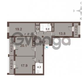 Продается квартира 3-ком 107.5 м² Московский проспект 65, метро Фрунзенская