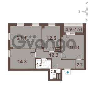 Продается квартира 3-ком 87.8 м² Московский проспект 65, метро Фрунзенская