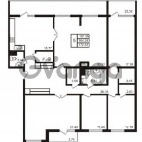Продается квартира 5-ком 163.48 м² набережная Обводного канала 108, метро Фрунзенская