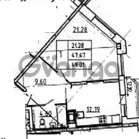 Продается квартира 1-ком 49 м² Петровский бульвар 1, метро Девяткино