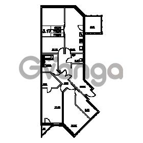 Продается квартира 3-ком 118.3 м² проспект Энгельса 2, метро Черная Речка