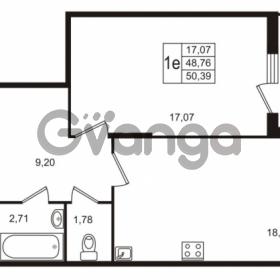 Продается квартира 1-ком 50 м² Берёзовая улица 1, метро Проспект Просвещения