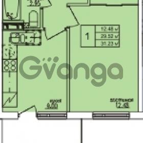 Продается квартира 1-ком 31 м² Понтонная улица 28, метро Рыбацкое