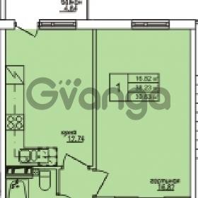 Продается квартира 1-ком 36 м² Понтонная улица 28, метро Рыбацкое