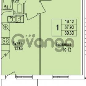 Продается квартира 1-ком 39 м² Понтонная улица 28, метро Рыбацкое