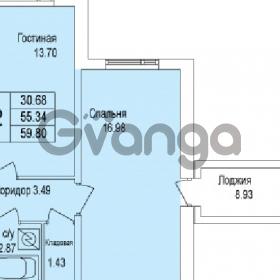 Продается квартира 2-ком 59 м² Понтонная улица 29, метро Рыбацкое