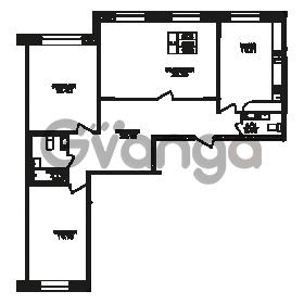 Продается квартира 3-ком 93 м² Юнтоловский проспект 53к 3, метро Старая деревня