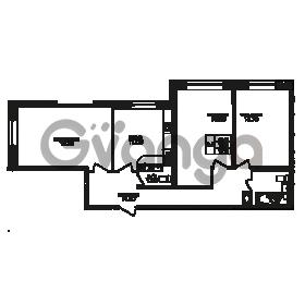 Продается квартира 3-ком 79 м² Юнтоловский проспект 53к 3, метро Старая деревня