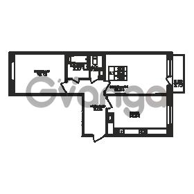 Продается квартира 2-ком 57 м² Юнтоловский проспект 53к 3, метро Старая деревня