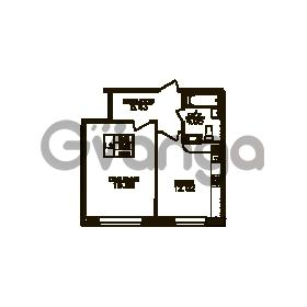Продается квартира 1-ком 37 м² Юнтоловский проспект 51к 3, метро Старая деревня