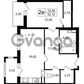 Продается квартира 1-ком 52.3 м² Липовая аллея 15, метро Старая деревня
