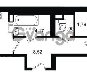 Продается квартира 1-ком 44.1 м² Липовая аллея 15, метро Старая деревня
