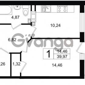 Продается квартира 1-ком 40 м² Липовая аллея 15, метро Старая деревня