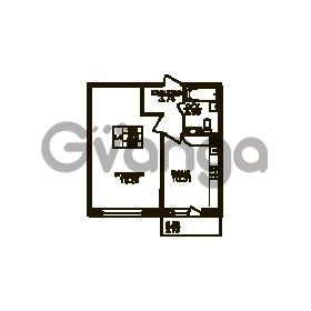 Продается квартира 1-ком 38 м² Юнтоловский проспект 51к 3, метро Старая деревня