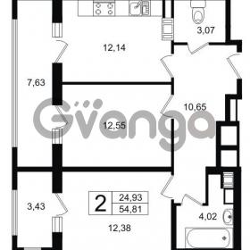 Продается квартира 2-ком 54.8 м² Липовая аллея 15, метро Старая деревня