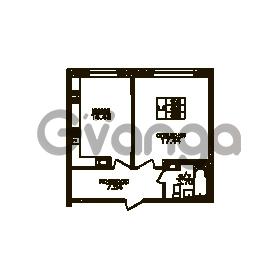 Продается квартира 1-ком 43 м² Юнтоловский проспект 51к 3, метро Старая деревня