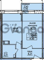 Продается квартира 1-ком 40 м² улица Шкапина 36, метро Балтийская