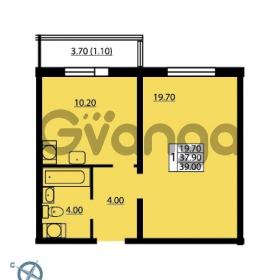 Продается квартира 1-ком 39 м² Южное шоссе 114, метро Международная