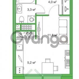 Продается квартира 1-ком 24.3 м² Яхтенная улица 24, метро Старая деревня