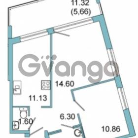 Продается квартира 2-ком 47.9 м² Центральная улица 9, метро Парнас