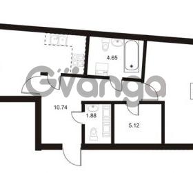 Продается квартира 1-ком 70.45 м² Ушаковская набережная 3, метро Черная речка