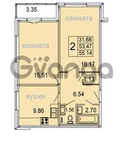 Продается квартира 2-ком 55.14 м² Голландская улица 3, метро Ладожкая