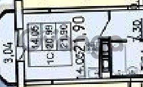 Продается квартира 1-ком 21 м² Петровский бульвар 2, метро Девяткино