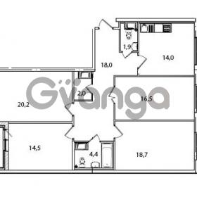 Продается квартира 4-ком 111.5 м² Кременчугская улица 23, метро Площадь Восстания