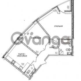 Продается квартира 2-ком 69.2 м² проспект Маршала Жукова 52, метро Проспект Ветеранов