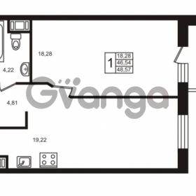 Продается квартира 1-ком 46.55 м² Московский проспект 73, метро Фрунзенская