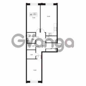Продается квартира 2-ком 89 м² улица Катерников 1, метро Проспект Ветеранов