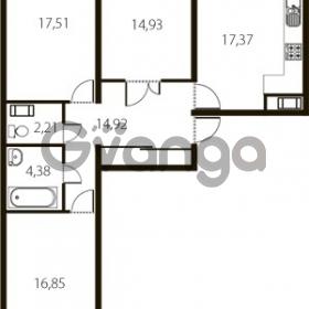 Продается квартира 3-ком 89 м² улица Катерников 1, метро Проспект Ветеранов