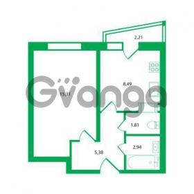 Продается квартира 1-ком 33.93 м² Колтушское шоссе 1к 3, метро Улица Дыбенко