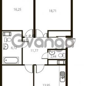 Продается квартира 3-ком 88 м² улица Катерников 1, метро Проспект Ветеранов