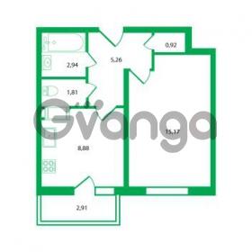 Продается квартира 1-ком 34.98 м² Колтушское шоссе 1к 3, метро Улица Дыбенко