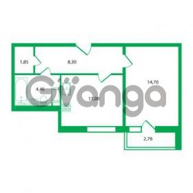 Продается квартира 1-ком 40.3 м² Колтушское шоссе 1к 3, метро Улица Дыбенко