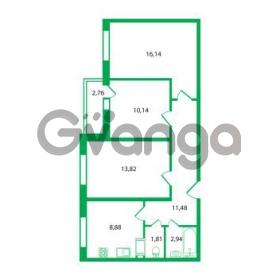 Продается квартира 3-ком 65.21 м² Колтушское шоссе 1к 3, метро Улица Дыбенко