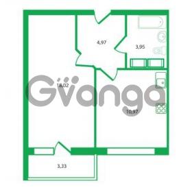 Продается квартира 1-ком 37.91 м² Колтушское шоссе 1к 3, метро Улица Дыбенко
