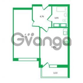 Продается квартира 1-ком 38.75 м² Колтушское шоссе 1к 3, метро Улица Дыбенко