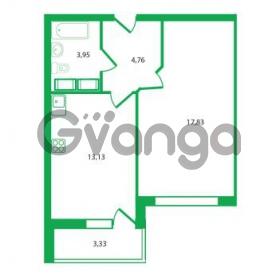 Продается квартира 1-ком 39.67 м² Колтушское шоссе 1к 3, метро Улица Дыбенко
